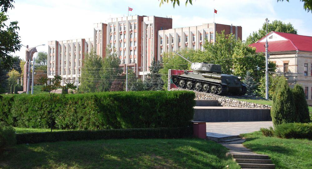 Parliament Palace - Transnistria/Tiraspol