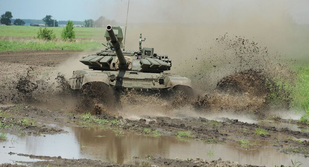Tank Biathlon 2015 qualifier in Chelyabinsk Region