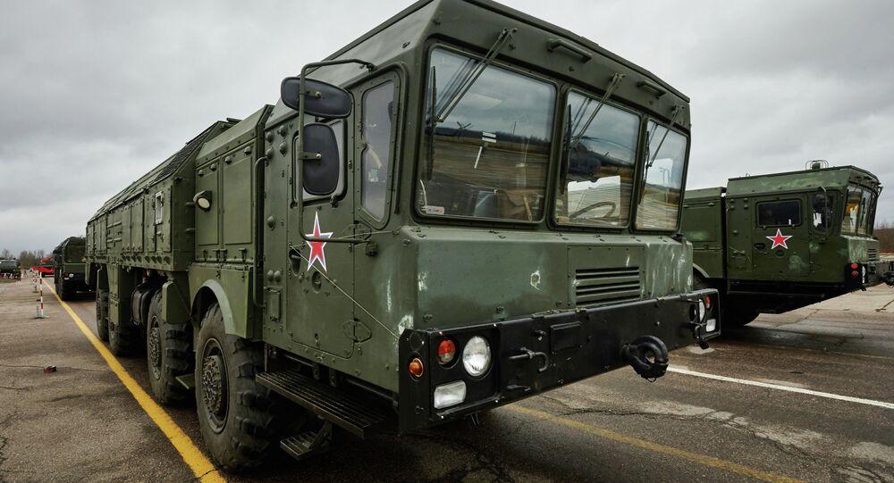 Iskander mobile short-range ballistic missile system