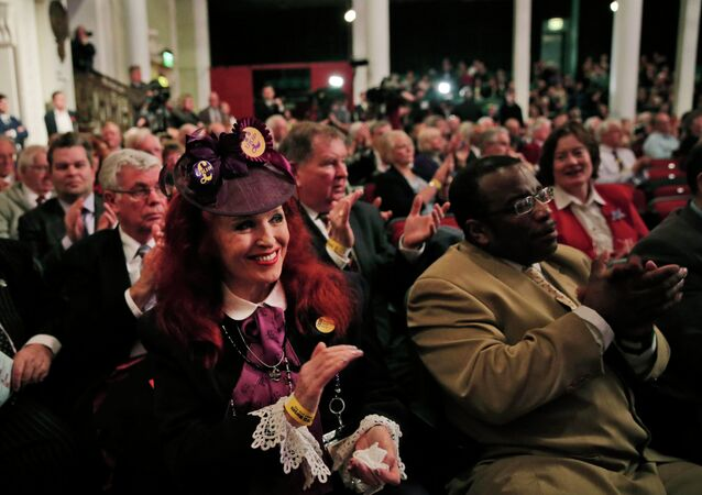 Supporters of the UK Independence Party (UKIP)