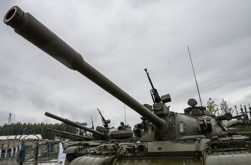 Russian Military Hardware on Display at Army 2015 Expo