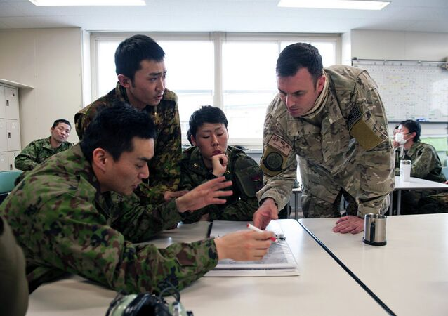 US Air Force and  Japan Ground Self-Defense Force
