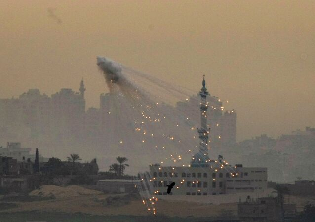 """Agribusiness giant Monsanto - best known for their genetically modified soybeans and """"probably carcinogenic"""" herbicide - has supplied the US government with white phosphorous used in incendiary weapons for at least 20 years, and some of that made its way to Israel for use in Operation Cast Lead."""
