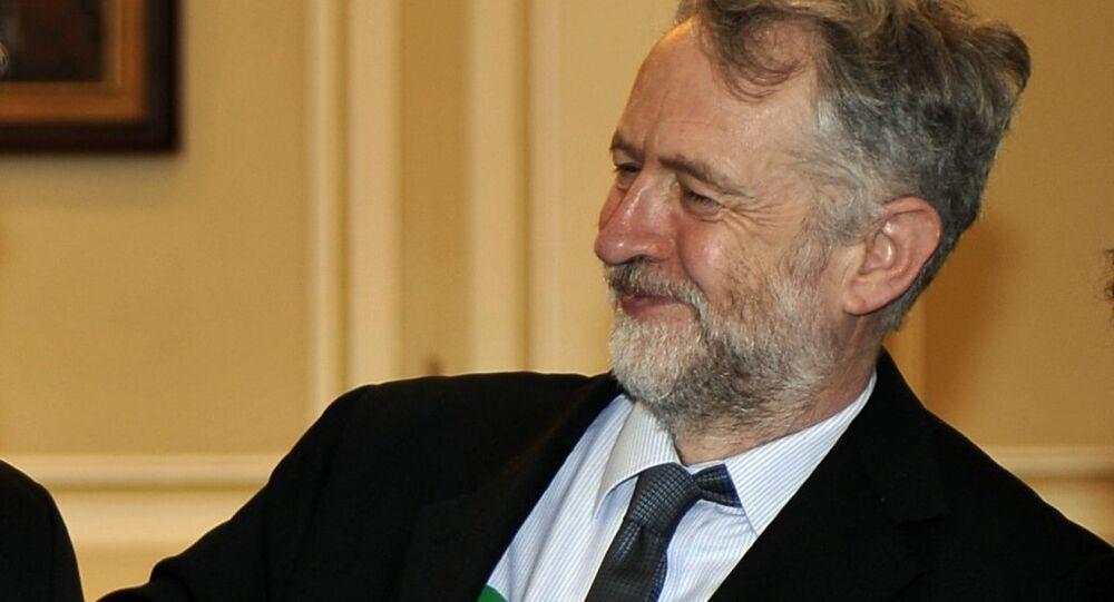 Labour MP Jeremy Corbyn