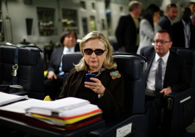As Hillary Clinton tops the national polls among Democratic presidential hopefuls, she also leads the pack on Twitter - with the highest number of fake followers.