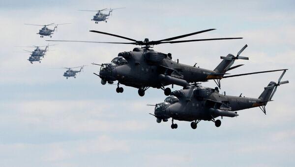 Mi-35 helicopters - Sputnik International