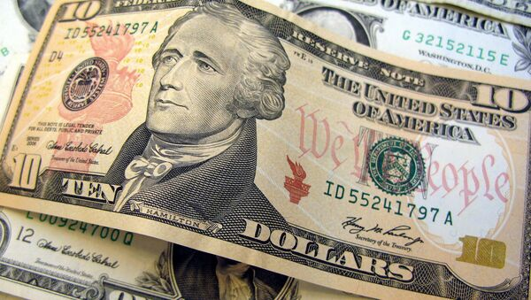 10 dollar bill - Sputnik International