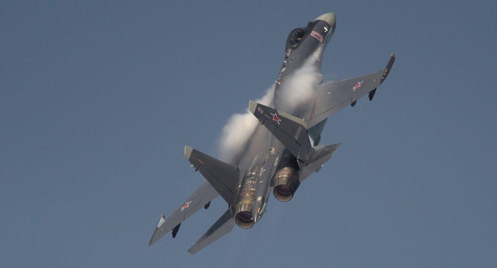 Su-35 aircraft