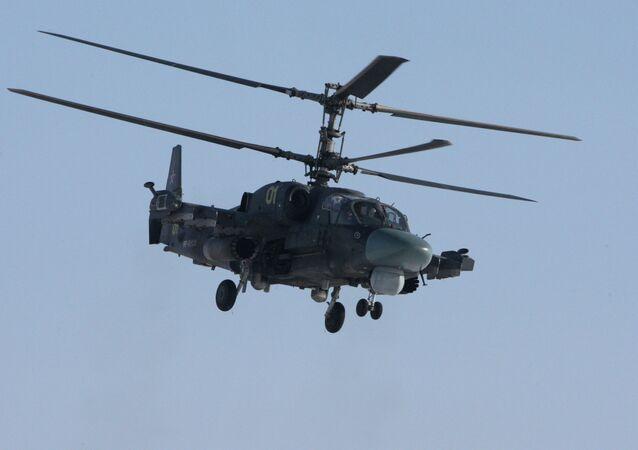 Ka-52 Alligator helicopter