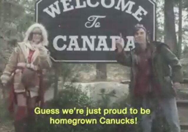 Canadians Rap About America