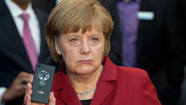 The spying affair dates back to 2013, when it was alleged that the NSA had bugged German Chancellor Angela Merkel's mobile phone. - Sputnik International