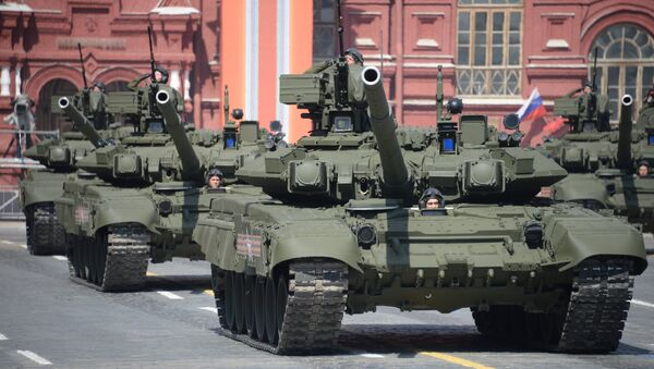 A T-90A main battle tank - Sputnik International