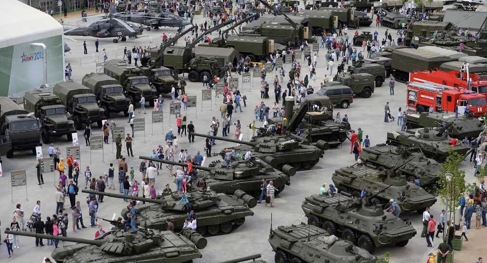 Russia's Army-2015 Forum