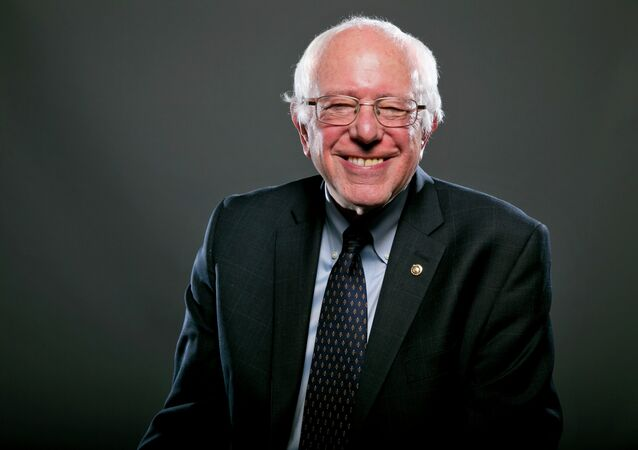 Democratic Presidential candidate Sen. Bernie Sanders, I-Vt., poses for a portrait before an interview, Wednesday May 20, 2015, in Washington.