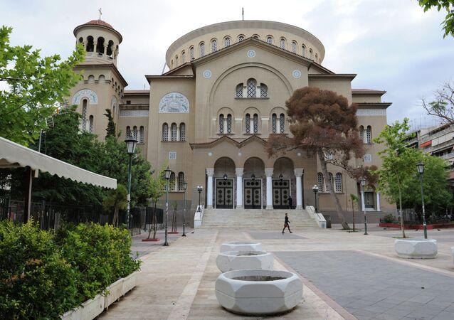 The Church of St. Panteleimon in Athens.