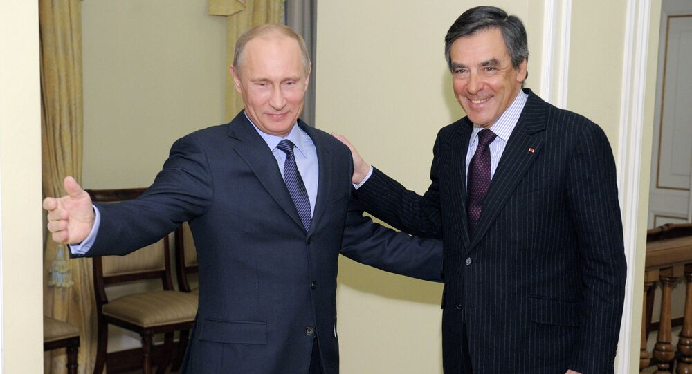Vladimir Putin meets with Francois Charles Armand Fillon. file photo