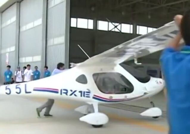 RX1E airplane