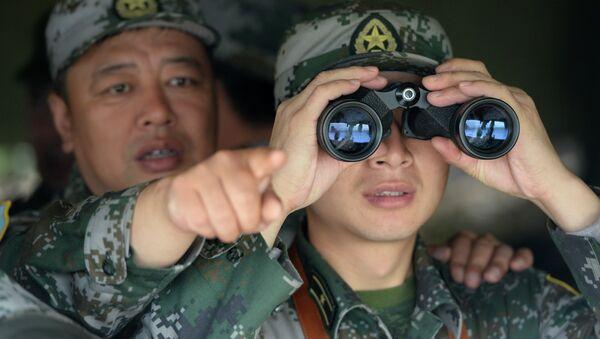 Chinese servicemen - Sputnik International