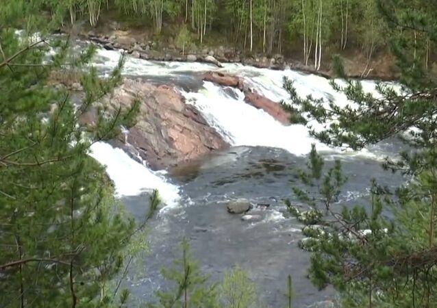 Kolvitsky falls