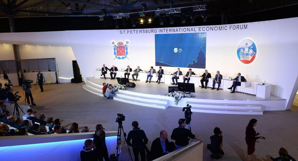 The 2015 St. Petersburg International Economic Forum (SPIEF)