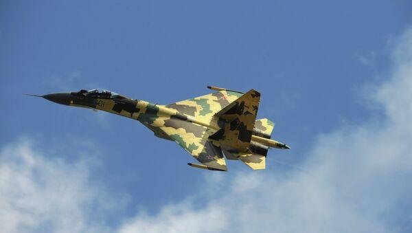 A Sukhoi Su-35 fighter - Sputnik International