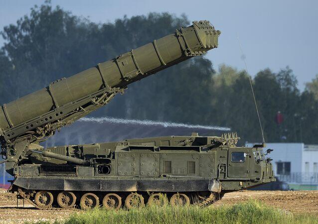 Antey-2500 anti aircraft S-300VM system