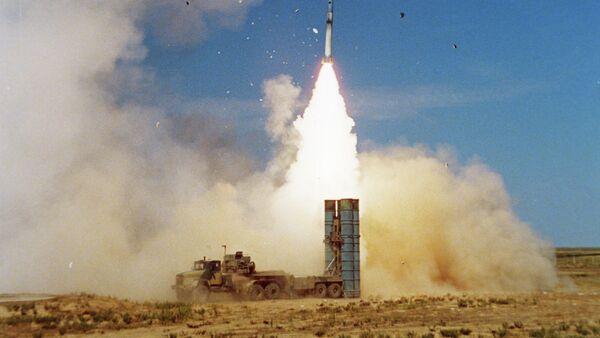 S-300 PMU-1 air defense missile system - Sputnik International