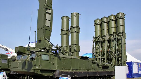 S-300VM Antei-2500 air defense system - Sputnik International