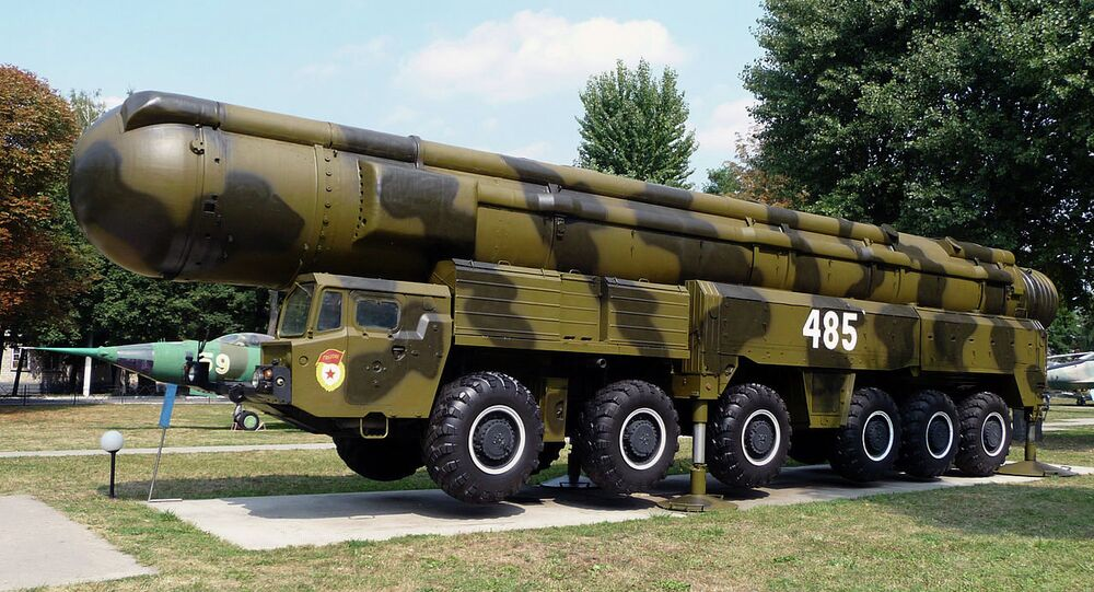 The RT-21M Pioneer missiles were destroyed in accordance with the Intermediate-Range Nuclear Forces Treaty.
