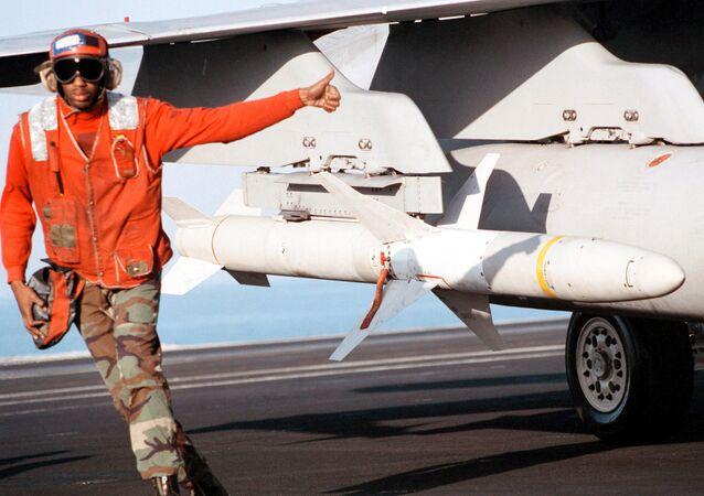 AGM-88B High-Speed Anti-Radiation Missiles