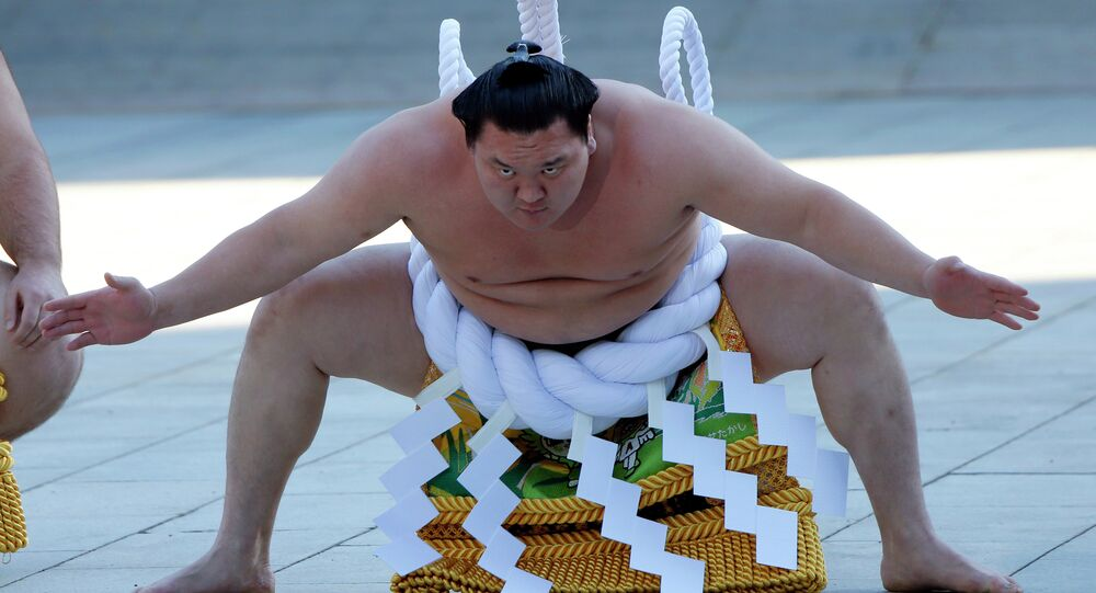 """Sumo is among sports that applied but were not selected to present in front of the International Olympic Committee for """"Olympic Agenda 2020."""""""