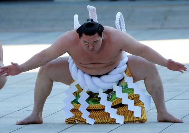 "Sumo is among sports that applied but were not selected to present in front of the International Olympic Committee for ""Olympic Agenda 2020."""