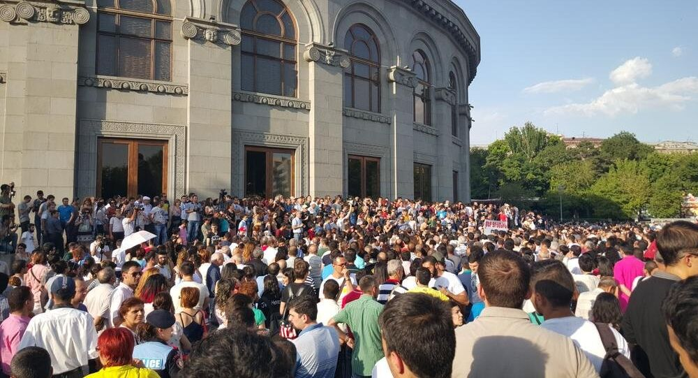 Rally in Yerevan