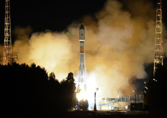 Launch of Soyuz-2.16 rocket from the Plesetsk spaceport