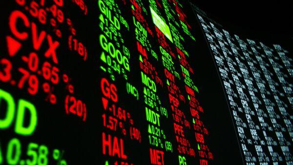 Stock markets indexes - Sputnik International