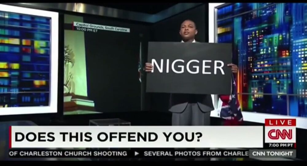 As the nation mourns and US officials struggle to address the massacre of nine black churchgoers by a white supremacist terrorist, the television media is going to greater and greater lengths to grab viewers' attention. And then there's CNN's Don Lemon.