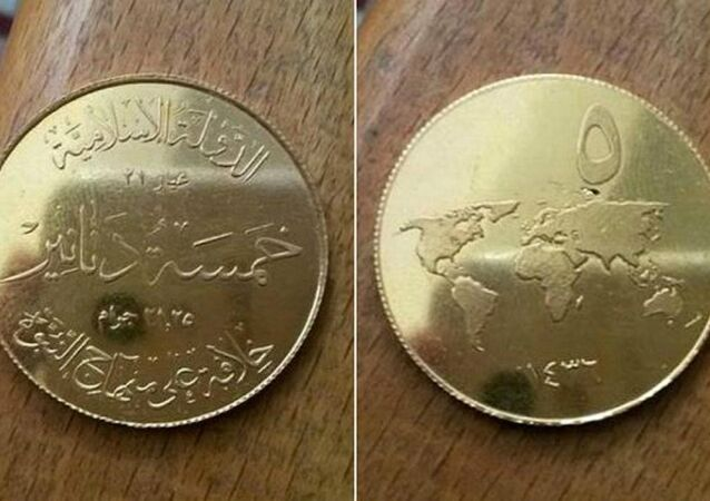 Islamic State mints its own 'Islamic Dinar' coins