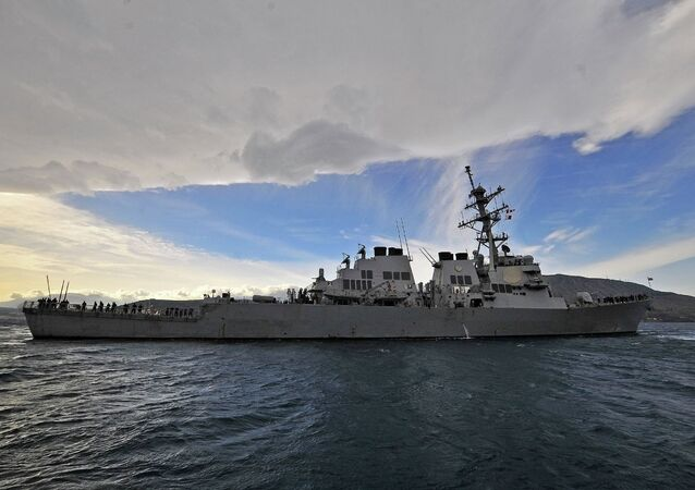 US Destroyer Laboon