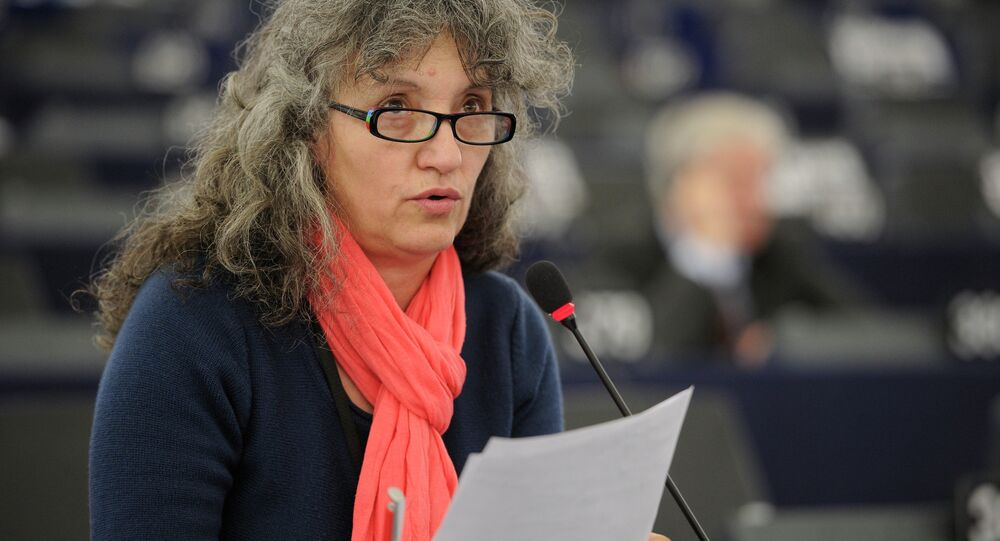 Member of the European Parliament Lidia Senra