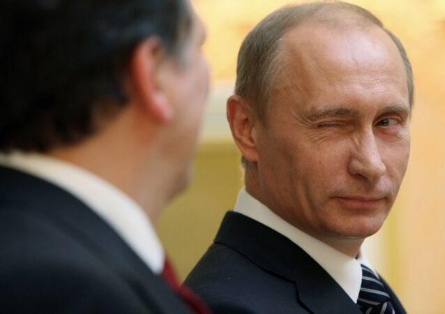 Vladimir Putin's public approval rating reached 87 percent in July, a poll conducted by Levada-Center showed.