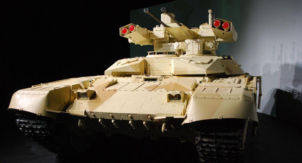 Tank support combat vehicle Terminator-2