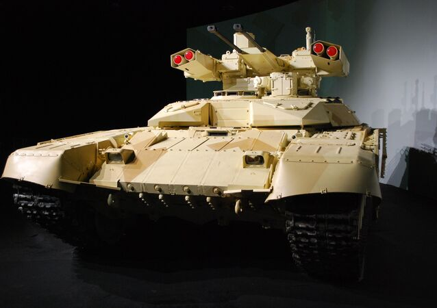 Tank support combat vehicle Terminator-2