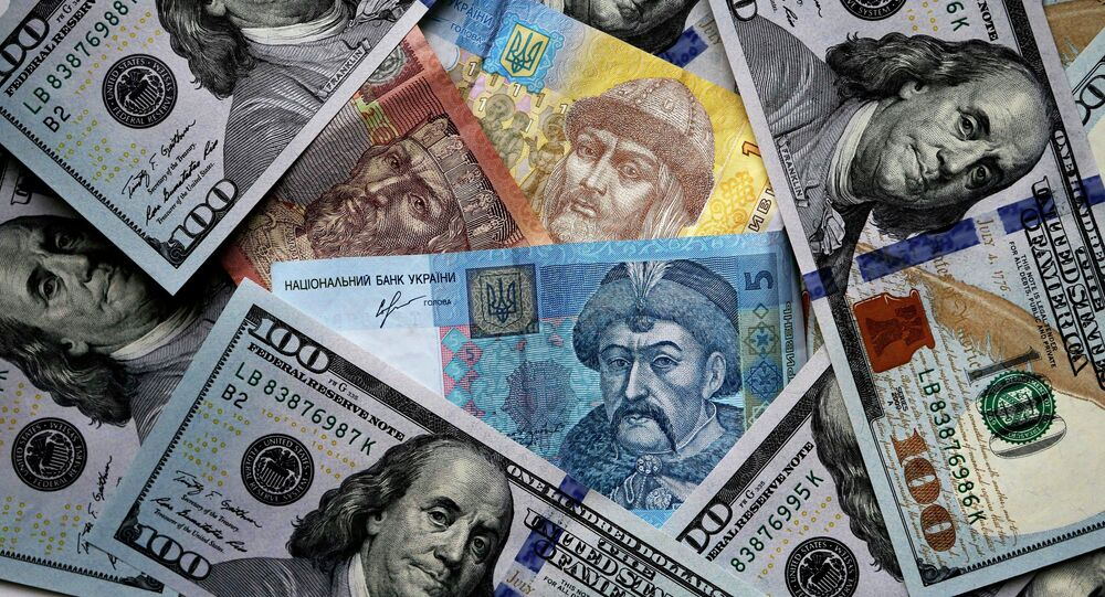 US and Ukrainian notes