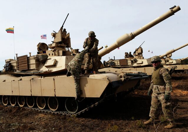 US M1 Abrams tanks and M2 Bradley infantry fighting vehicles can participate in NATO drills in Hungary.