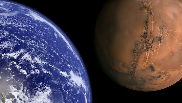 Earth and Mars. - Sputnik International