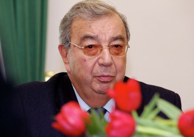 Former Russian Prime Minister Yevgeny Primakov
