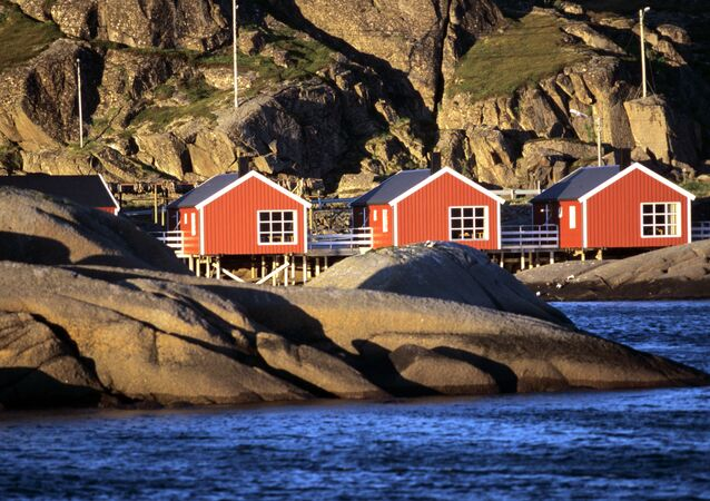 Fishermen's village on Lofoten island
