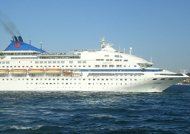 Cruise ship Celestyal Crystal