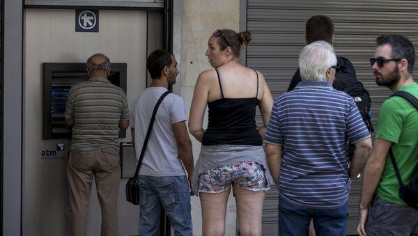 People line up - Sputnik International