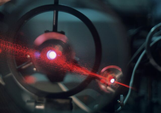 Laser at Institute of Applied Physics, Russian Academy of Sciences.